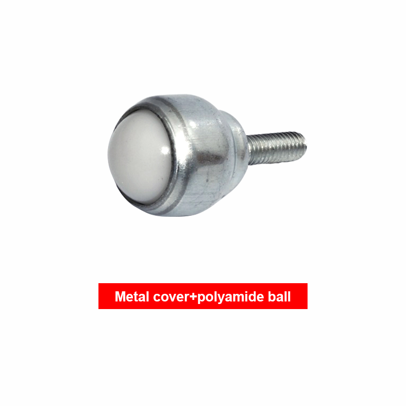 Ball Casters 4pcs 15mm Bearing Steel Ball KSM-15 Swivel Round Ball Caster Roller Silver Metal Wheel Universal Transfer Ball Units Industrial Casters
