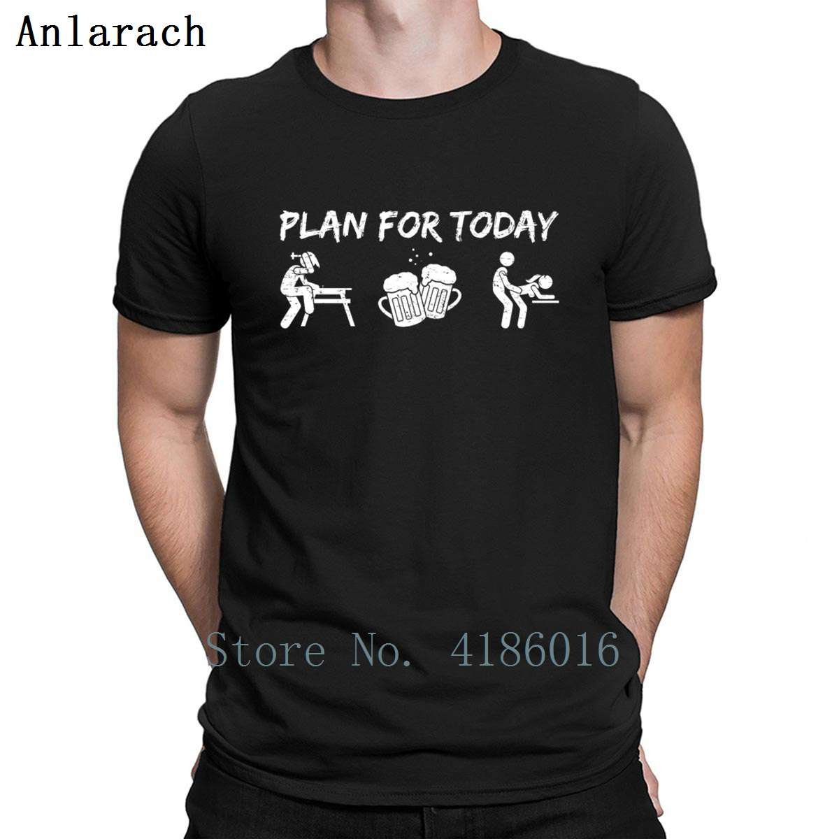 <font><b>Funny</b></font> Carpenter Day Plan Build Beer Fun <font><b>Sex</b></font> T <font><b>Shirt</b></font> Breathable Designer Cotton S-5XL Gents Standard Cute Spring <font><b>Shirt</b></font> image