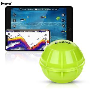 Image 1 - Eyoyo Drahtlose Fischerei Sounder Tragbare Echo Signalgeber für angeln Smart Bluetooth Sonar fisch finder tiefer sondeur peche