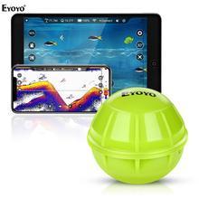 Беспроводной рыболовный эхолот Eyoyo, портативные эхолоты для рыбалки, умный Bluetooth сонар, рыболокатор, глубоководный рыболокатор