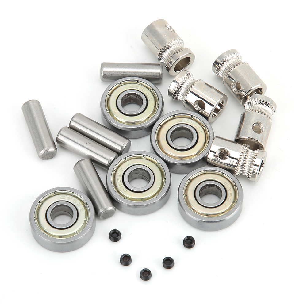 3D Printer Metal Accessories MMU2 Extruder Gear + <font><b>625ZZ</b></font> Ball Bearing Kit for High Wear Application 3D Printer Accessories image