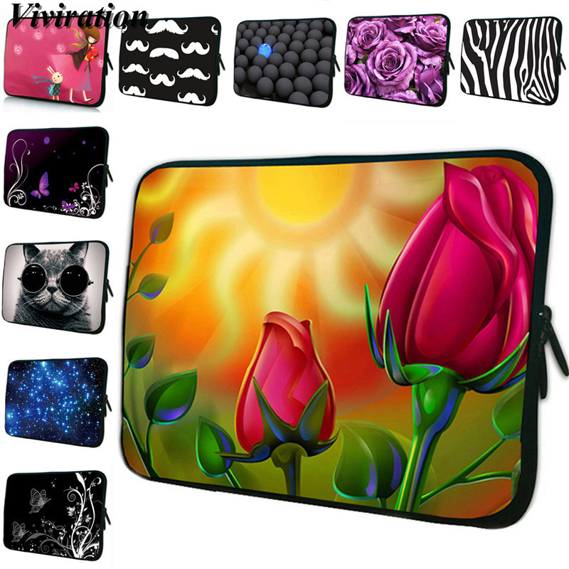 Zipper Laptop Bag 13 12 15 14 17 10.1 9.7 Tablet PC Case For iPad Pro 11/iPad Air <font><b>Funda</b></font> <font><b>Portatil</b></font> <font><b>15.6</b></font> 17.3 Notebook Cover Pouch image