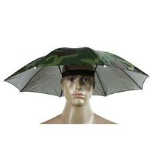 1 Pcs Outdoor Fishing Hat Cap Sun Foldable Sun Umbrella Hat Golf Fishing Camping