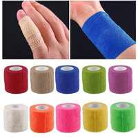 Bandage finger wrist support soccer basketball sports ankle support kneepad waist support tape