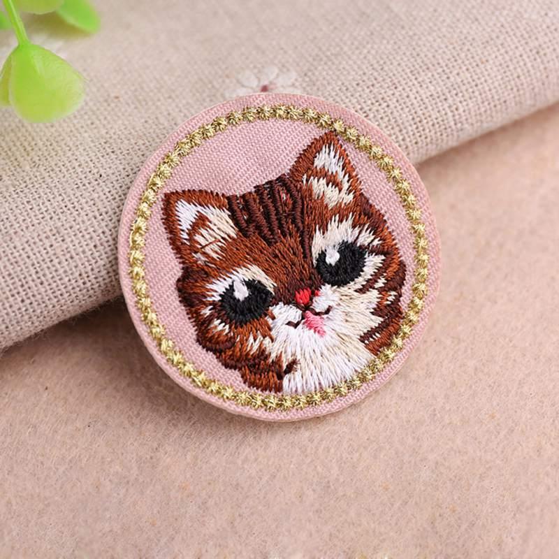 Animal bonito Pano Bordado Adesivos Remendos de Tecido Diy Roupas Jaqueta Jeans Acessórios Decorativos New2 - 4