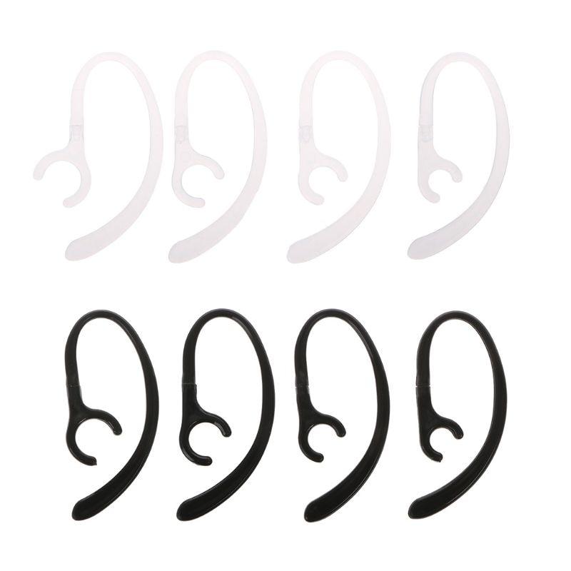 1 Pair Anti-lost Soft Bluetooth Earphone Earhook Clip Headphone Stand Sport Headset Ear Hook Clamp Holder EarLoop Wings R91A