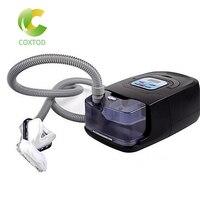 COXTOD GI 자동 CPAP 기계 수면 코골이 및 무호흡증 치료를위한 전기 홈 케어 어플 라 이언 스 가습기 비강 마스크