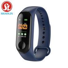Shaolin banda inteligente pulseira freqüência cardíaca atividade rastreador de fitness banda inteligente esporte smartwatch