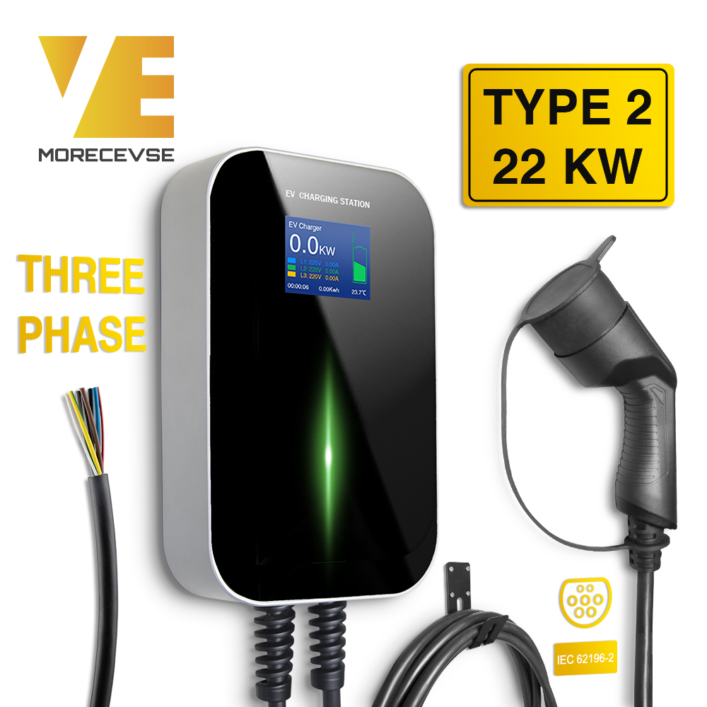EV Charger Vehicle-Charging-Station Type 3phase Iec 62196-2 Electric Mini Cooper Smart title=