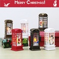 Christmas Decoration Lights 2021 New Year Gift for Child Party Bedroom Table Lamp Bronze Santa Claus/Snowman/Elk