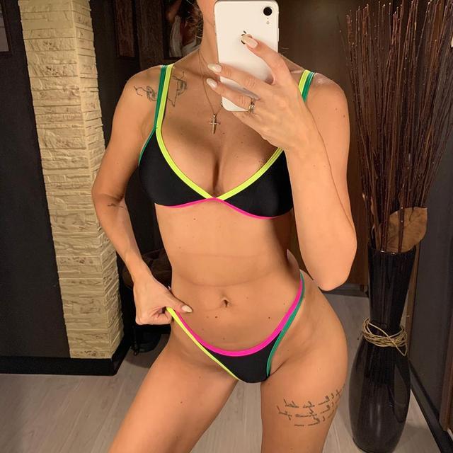 Thong Bikini High Cut