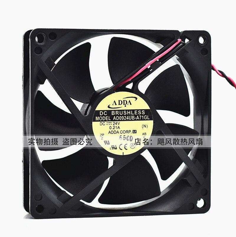 FOR ADDA AD0524HB-D71 2CM 20MM 2010 24V DC fan cooling fan