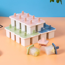 Summer Homemade 8 Grid Ice Cream Ice-lolly Mold Popsicle Moulds Tray Kitchen DIY Accessories недорого