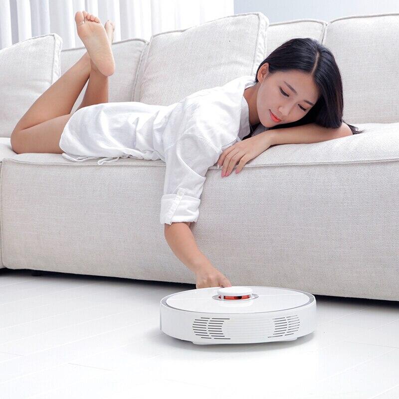 Робот пылесос xiaomi roborock s5 S51 2 для дома автоматический пылесос для уборки пыли стерилизовать умный планируемый мытье уборки - 4