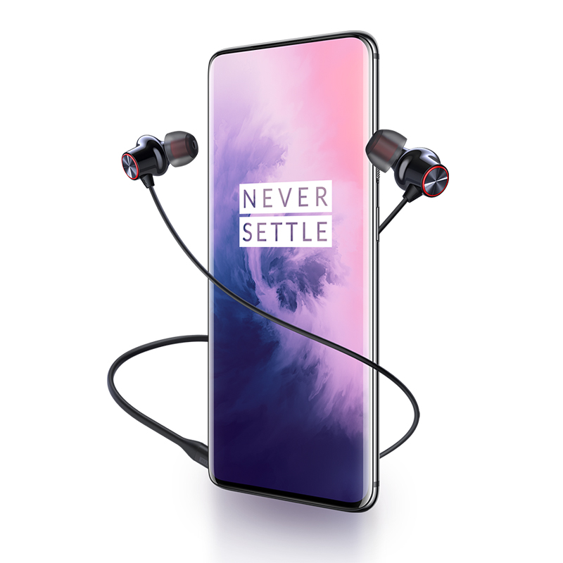 Image 4 - OnePlus Bullets Wireless 2 Bluetooth AptX Hybrid In Ear Earphone  Magnetic Control Mic Fast Charge For Oneplus 7T Oneplus 7T ProPhone  Earphones