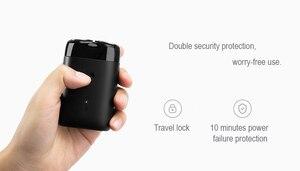 Image 5 - 2019 Xiaomi Mijia חשמלי מכונת גילוח 2 צף ראש נייד עמיד למים תער גילוח USB נטענת פלדה Mens לבית נסיעות