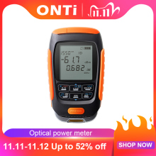 ONTi 4in1 Li lion Battery Optical Power Meter Visual Fault Locator Network Cable Test Optical Fiber Tester 5km 15km 30km VFL