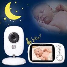 Monitor eletrônico de bebê, câmera babyfoon niania electrongizna vídeo vigilância bebê sem fio conector wifi vídeos de vigilância