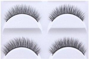 Image 5 - 250 pairs von 50 boxen Wimpern 3d nerz wimpern natürliche lange Nerz wimpern 1 cm 1,5 cm 3d falsche wimpern voller