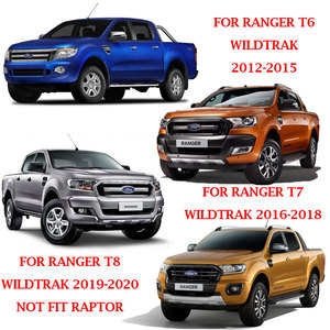 Image 5 - Rear Guard Tail Gate Truck Trim Voor Ford Ranger Wildtrak T6 T7 T8 2012 2013 2014 2015 2016 2017 2018 2019 2020