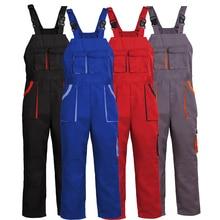 Big-Tall Bib Overall Workwear Men's Workwear For Car Mechanic Woodworking Farmer