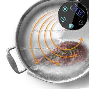 Image 3 - חדש ב 2020 גרמנית 10% אנרגיה חיסכון טכנולוגיה. 1000 ואט IPX7 עמיד למים ואקום לבשל מזון בישול מכונה. Sous vide סיר