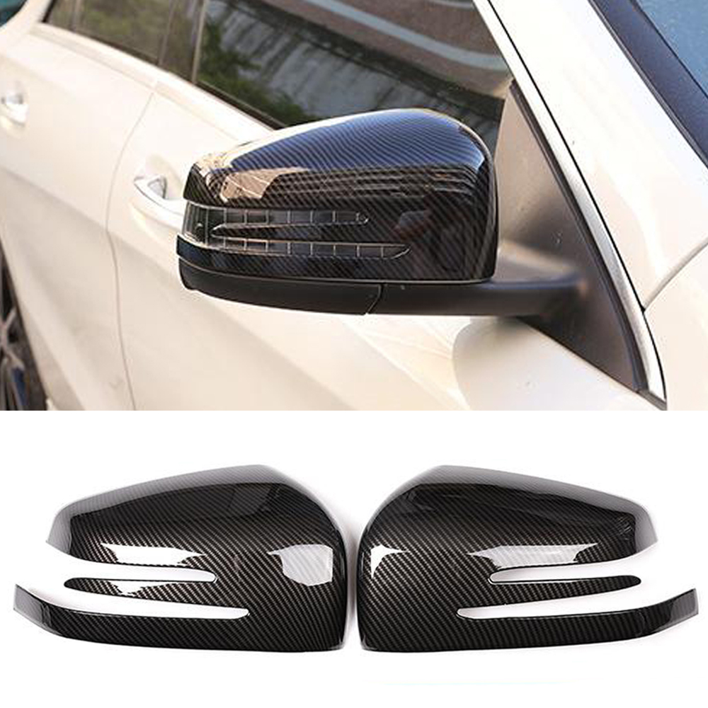 ABS Rearview Mirror Cover for Mercedes Benz A B C E GLA Class W204
