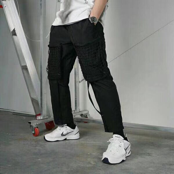 19ss A froid mur ACW Sweat pantalon hommes femmes Streetwear pied sangle Harajuku pantalon piste Joggers A froid mur Kanye West pantalon