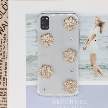 Modne etui do Samsung Galaxy A31 Ultra cienkie przezroczyste etui na telefon do Samsung A31 SM-A315F A315F A315 Bling diamentowe okładki tanie i dobre opinie CN (pochodzenie) Pół-owinięte Przypadku Transparent Silicone Case Przezroczysty Zwykły Brokat Klejnotami Jednorożec