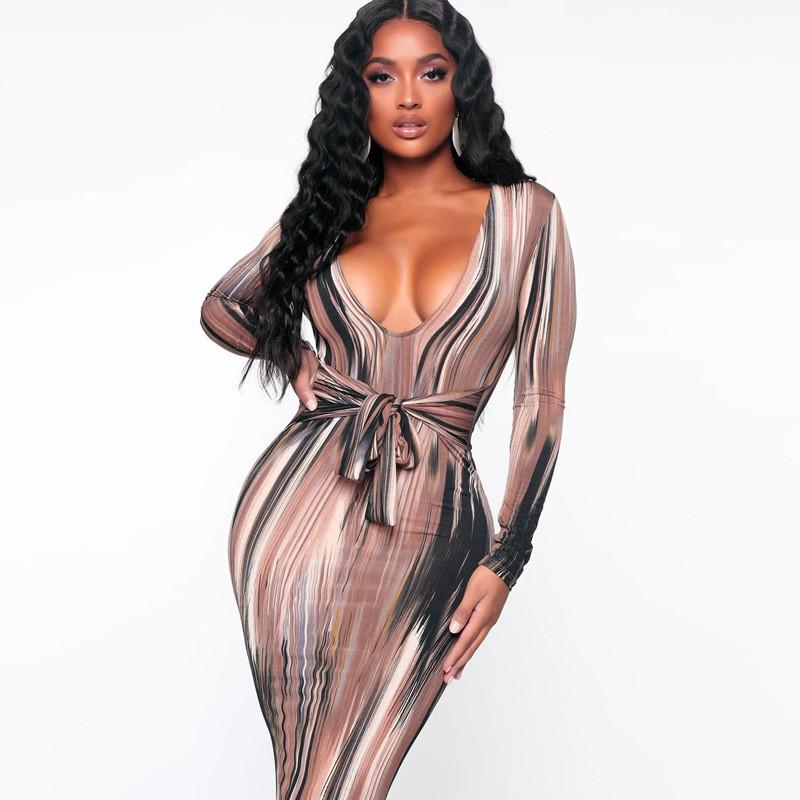 long sleeve bodycon dress19
