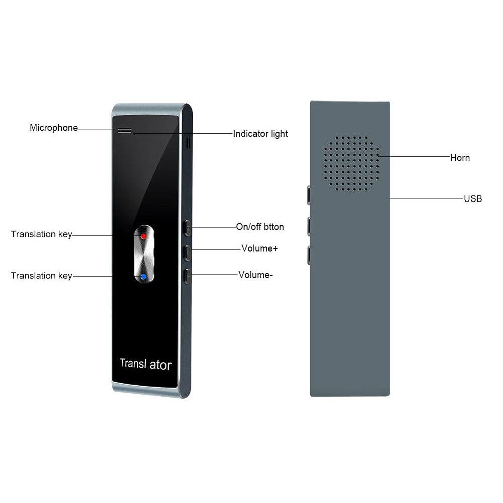 Bluetooth Language Translator Smart Laptop Real time Translation Voice Translator Machine SP99|Conference System| |  - title=