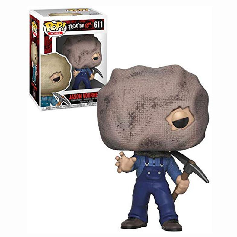 Funko POP Original Friday The 13th Boy #611 JASON VOORHEES PVC Action Figures Collectible Model Toys For Children  Gifts