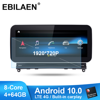 Car Radio Multimedia Player for Mercedes Benz C Class W204 S204 2007-2010 Android 10.0 Autoradio Stereo Navigation LTE 4G GPS image