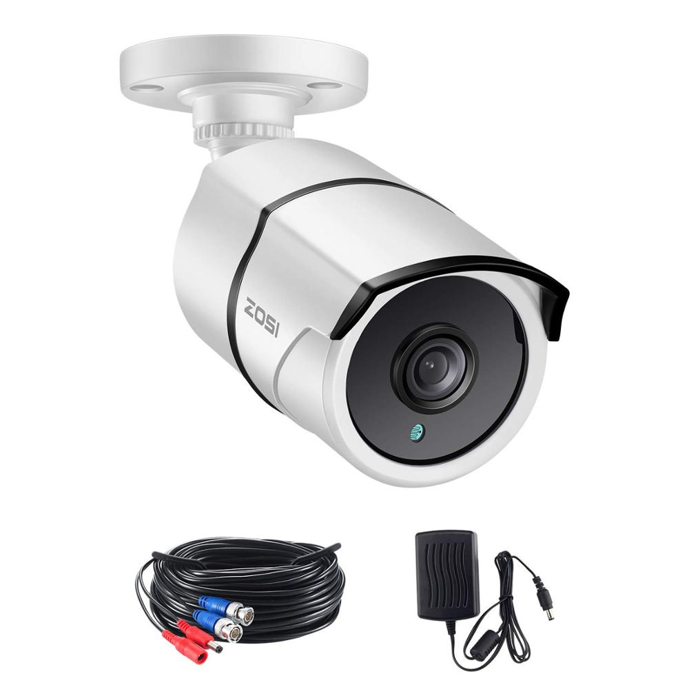 ZOSI 4K Extreme HD Security Camera-8.0MP Waterproof TVI Bullet CCTV Bnc Camera For Surveillance System Home Office Using