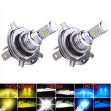 NEW 80W 20000LM Mini H4 H7 H1 LED Car Headlight H8 H9 H11 9005 9006 9012 ar Styling Auto Headlamp Fog Light Bulbs 12V 24V