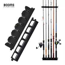 Boms Fishing WV2 Вертикальная 6 стержневая стойка держатель для удочек настенное крепление Модульная для гаража