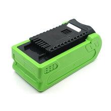 Greenworks 40V Li-ion Battery 4.0Ah-12AH 24252 2601102 29282 29302 29472 G40LM45 G40LT G40AB G40AC power tool Batteries 36V 1.5