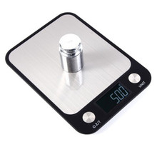 Digital Kitchen Food Scale 10Kg/1g stainless steel weighing Postal Electronic Scales Measuring tools weight Balance Coffee Scale цена 2017