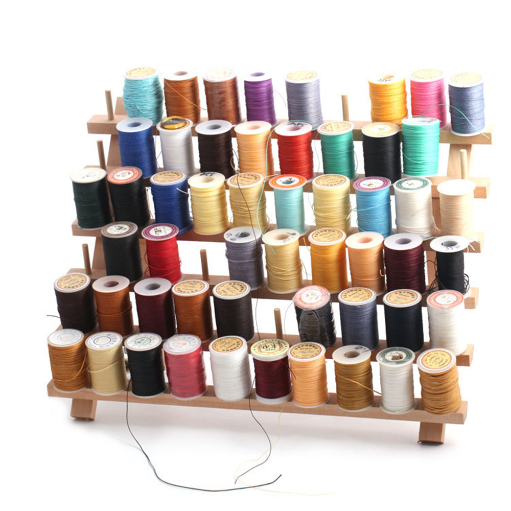 Milward Wooden Spool Holder Organiser for 120 Thread Spools Durable Beech Wood
