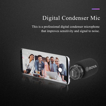 3.5mm Plug-in Microphone Omnidirectional Condenser Mic Metal Construction Rubber Splint for iPhone A