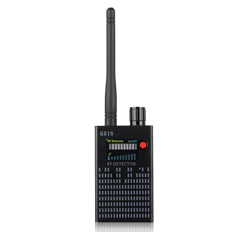 Anti-Spy Amplification  Bluetooth Signal Detector RF  Bug Camera Wireless Detectors Frequency Scanner Sweeper GSM CDMA
