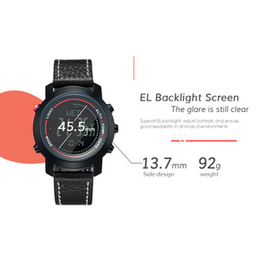 Image 5 - MG01 açık spor akıllı WatchWristwatches pusula altimetre barometre deri bant moda açık saatler saat Relogio