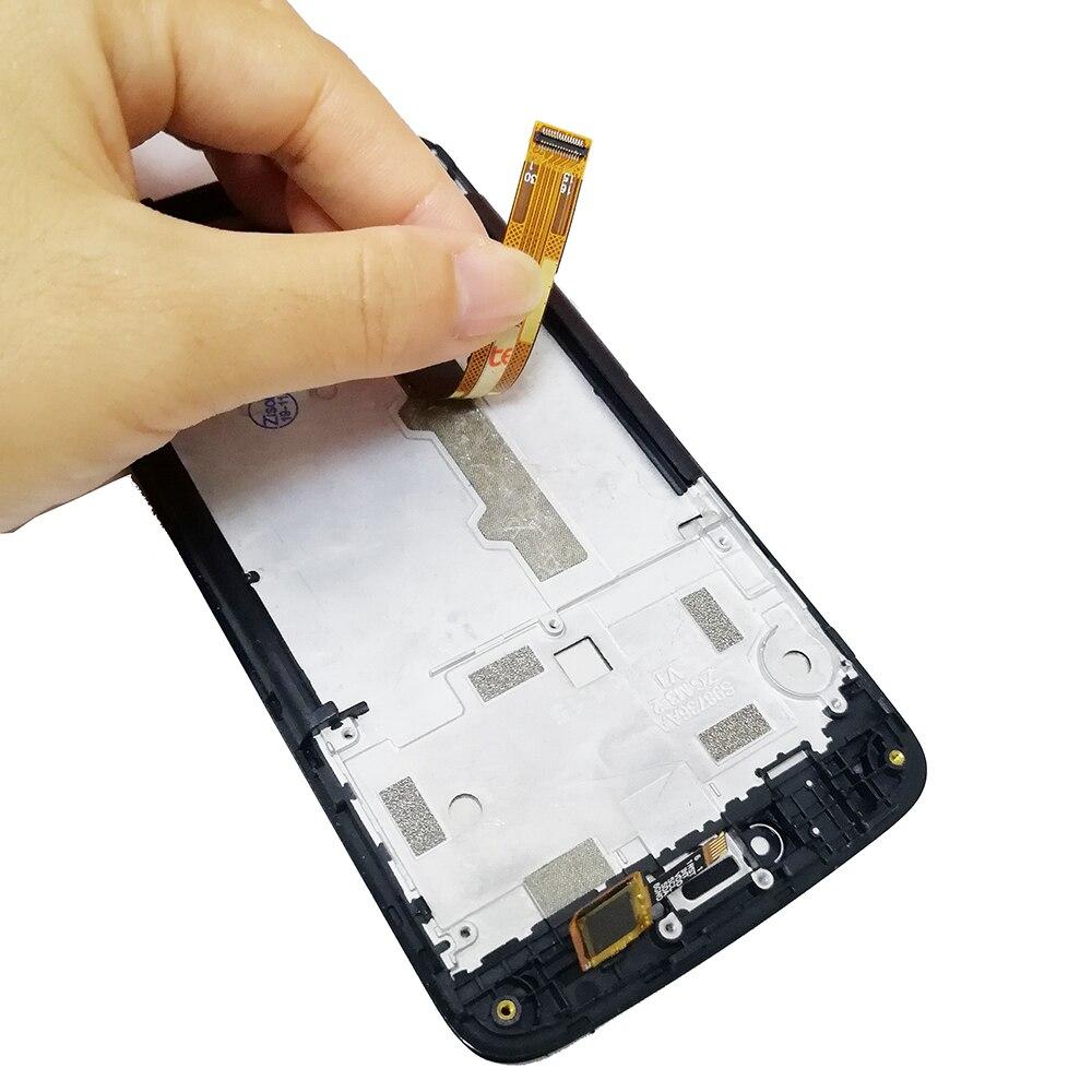 Image 4 - LCD With Frame For Motorola Moto C XT1750 XT1755 Xt1754 Display C plus XT1721 XT1722 XT1723 XT1724 LCD Screen Touch DigitizerMobile Phone LCD Screens   -