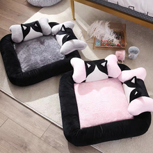 Pet dog bed beds for small dogs medium with pillow stuff home fashion design