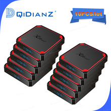 10 قطعة X96 MINI PLUS أندرويد الذكية صندوق التلفزيون أندرويد 9 mlogic S905W4 رباعية النواة 2G 16gb 4k X96 ميني الذكية التلفزيون مجموعة صندوق مشغل الوسائط