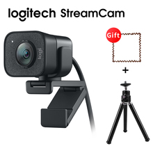 Original Logitech StreamCam Webcam Full HD 1080P / 60fps Autofocus Built-in Microphone Web Camera