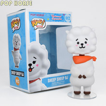 POP KPOP cheval BANGTAN RJ KOYA CHIMMY TATA bébé yada lol BT garçons dessin animé autocollants superstar chantant groupe figurine(China)