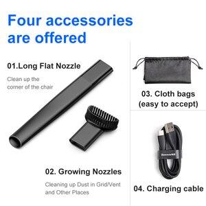 Image 5 - Baseus Wireless Car Vacuum Cleaner Portable Mini Small Handheld Auto Interior Vaccum Cleaner Cordless Dust Car Aspirador Hoover