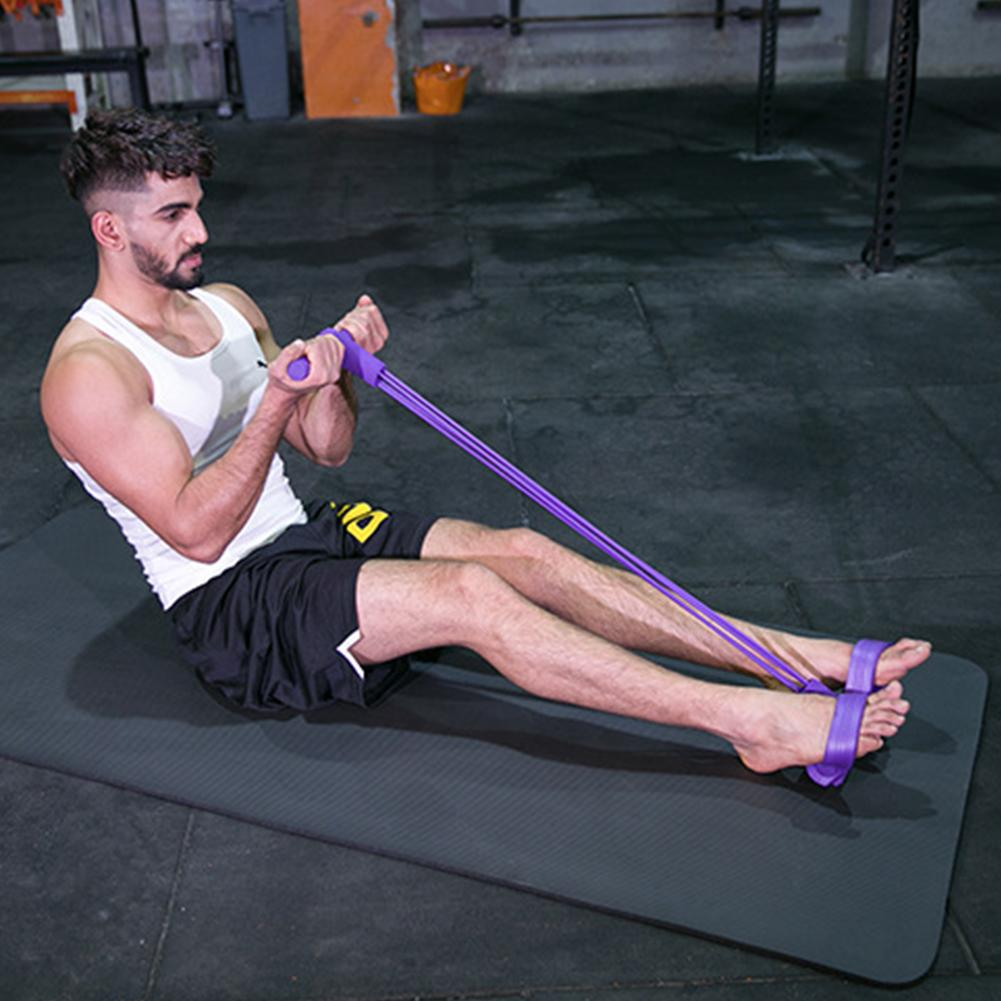 Multi Function Tension Fitness Resistance Bands 5