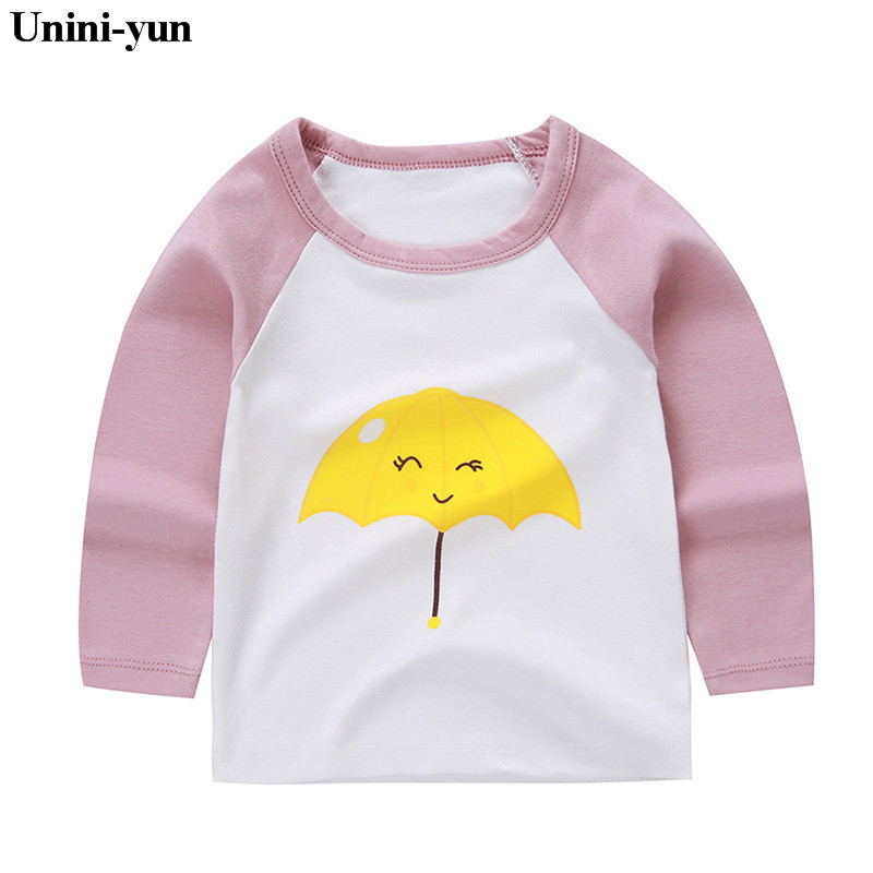 Girls Long Sleeve Tops PPokemonn Baby Girl Top Cartoon Pink Children T Shirts For Kids Clothes Unini-yun T Shirts For Kids 24m3t